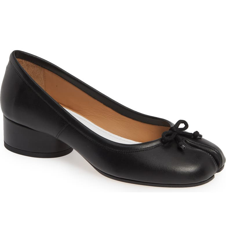 MAISON MARGIELA Tabi Pump, Main, color, BLACK
