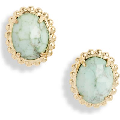 Sorrelli Oval Solitaire Stud Earrings
