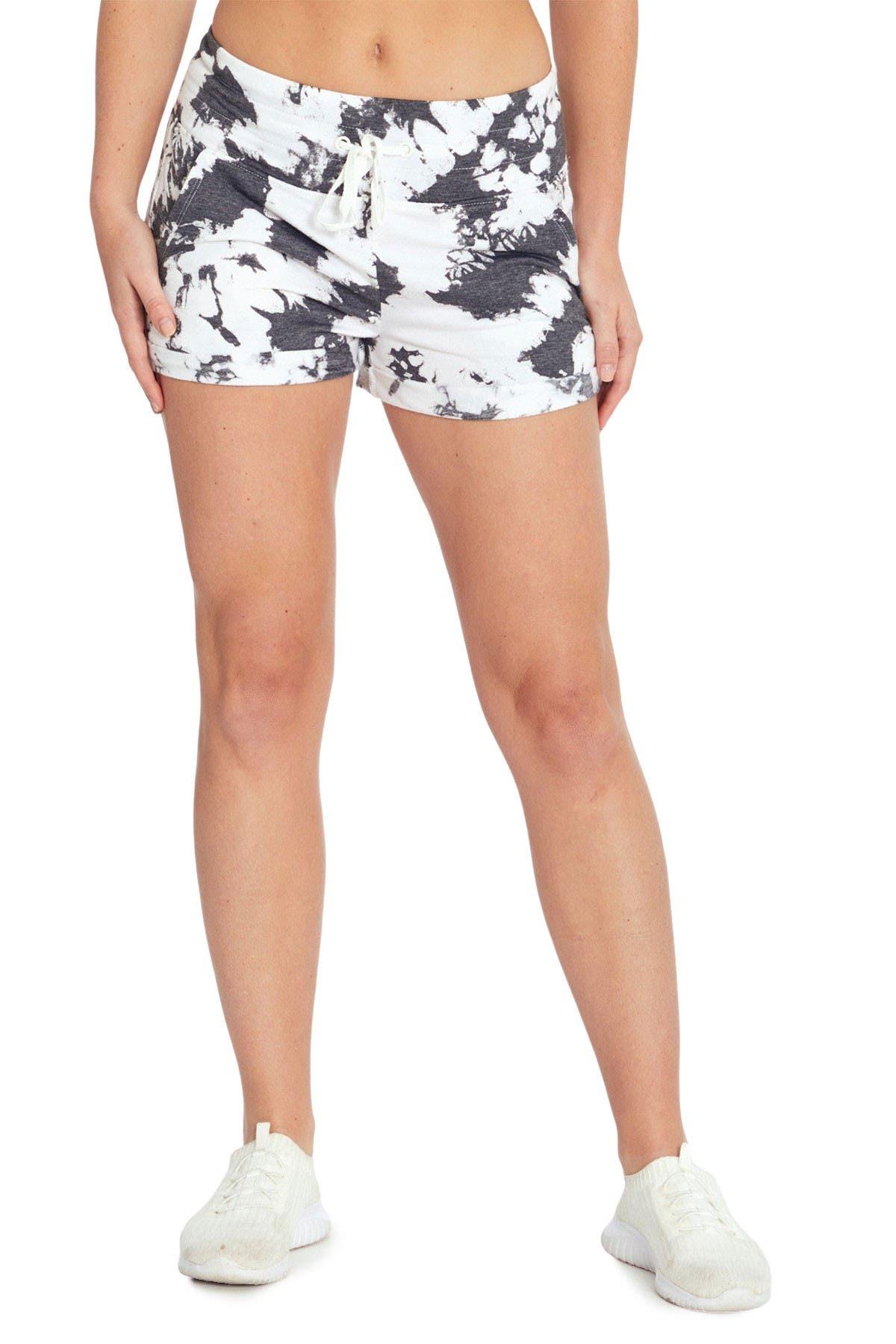 Image of Jessica Simpson Danni High Waisted Drawstring Shorts