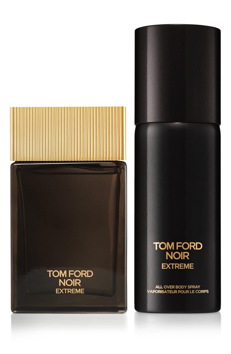 TOM FORD Noir Extreme Eau de Parfum & All Over Body Spray Set, Main, color, NO COLOR