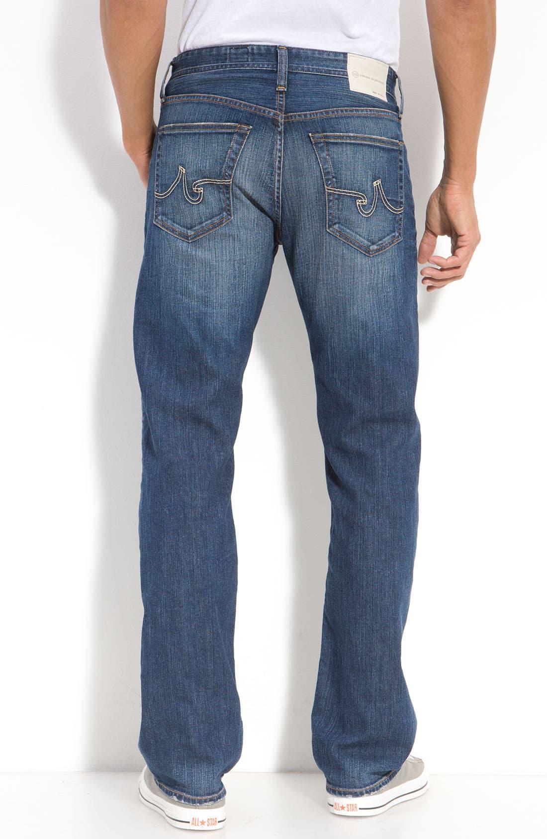 ,                             'Protégé' Straight Leg Jeans,                             Alternate thumbnail 39, color,                             429