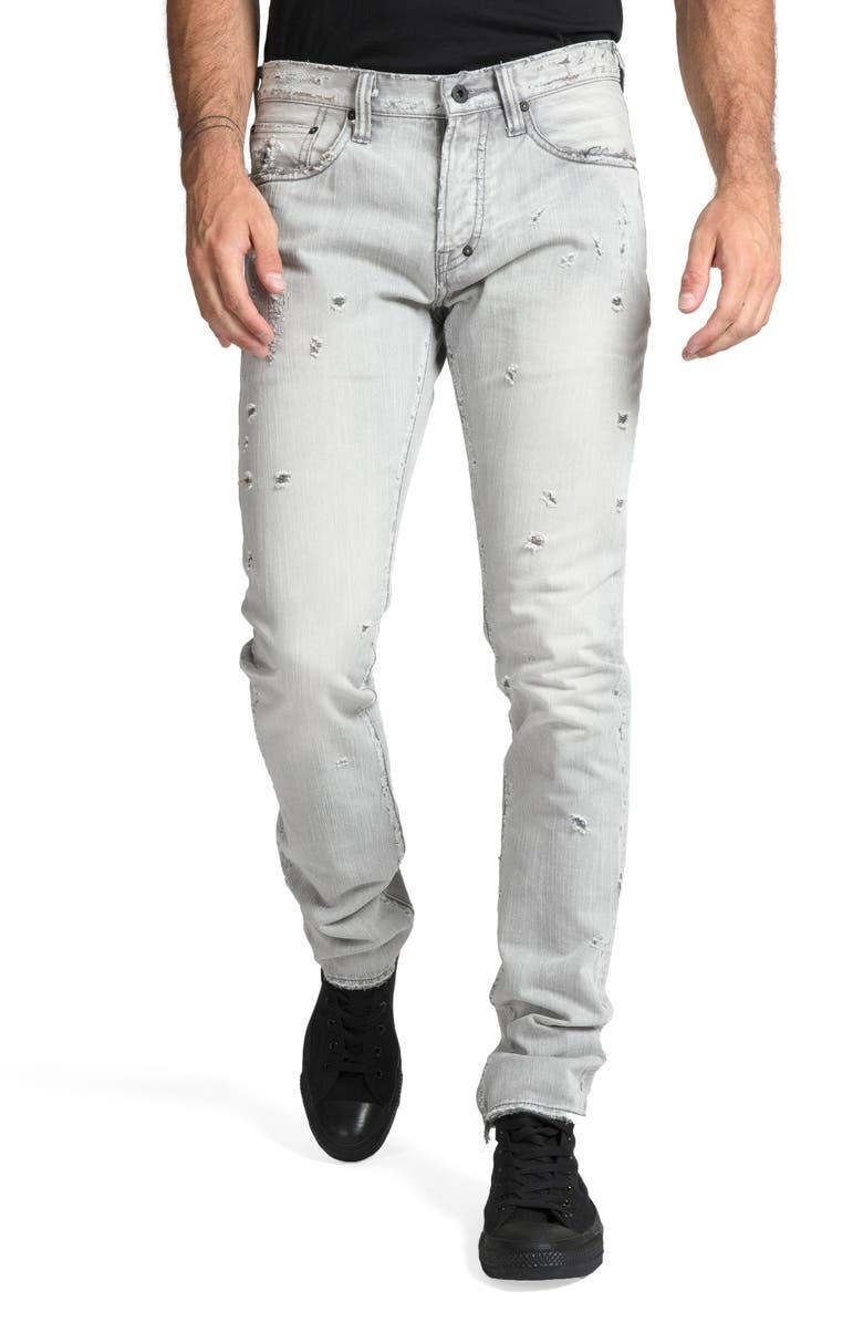 PRPS Le Sabre Slim Fit Jeans, Main, color, LOUTISH