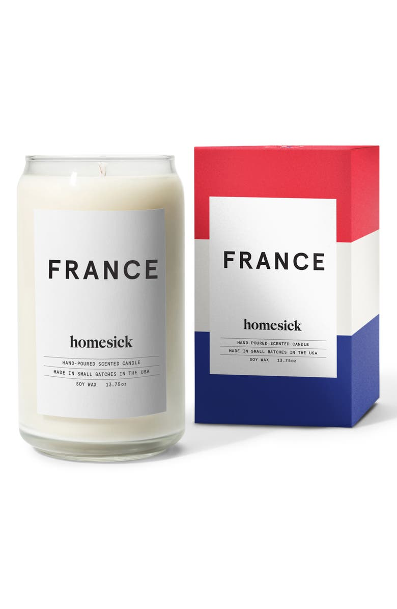 HOMESICK Country Soy Wax Candle, Main, color, FRANCE