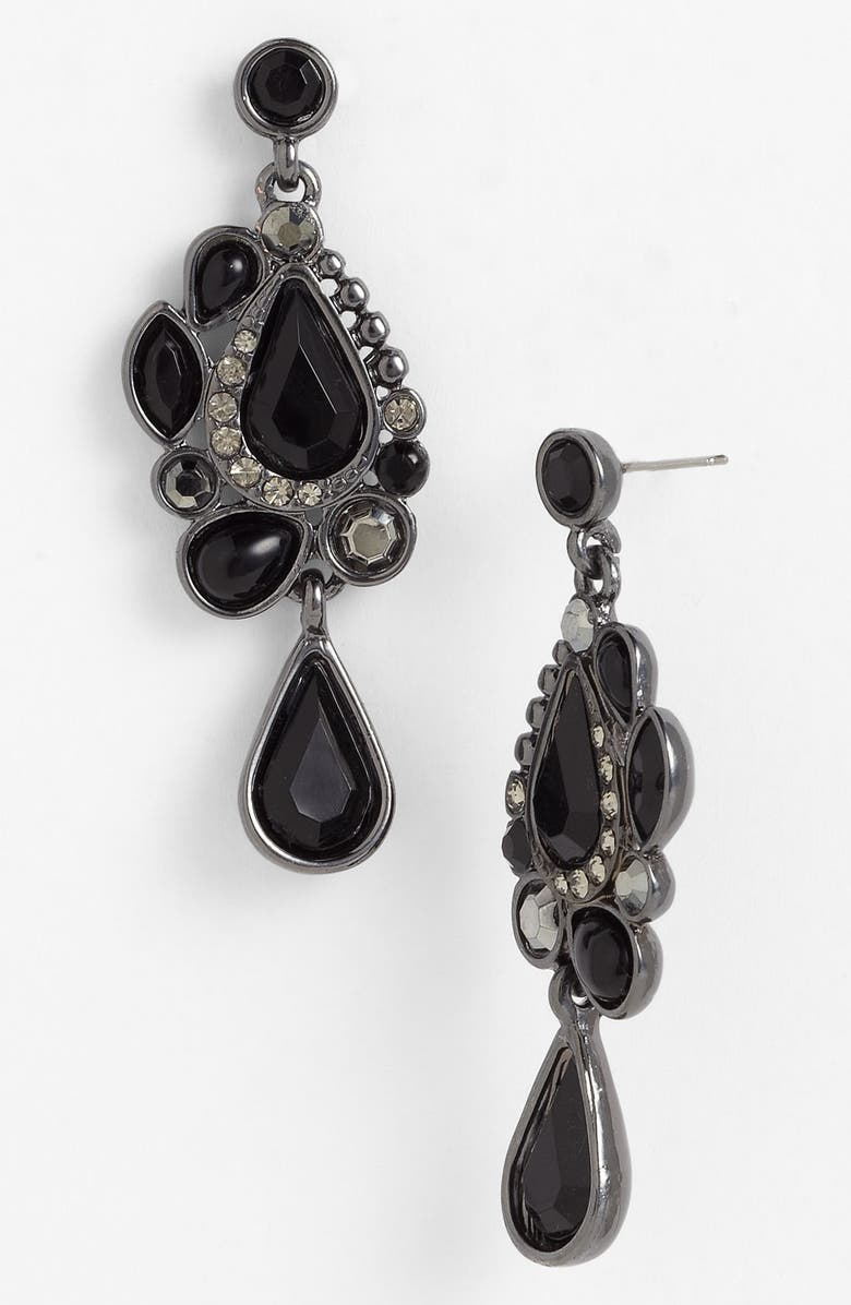 NORDSTROM 'Old Hollywood' Drop Earrings, Main, color, 001