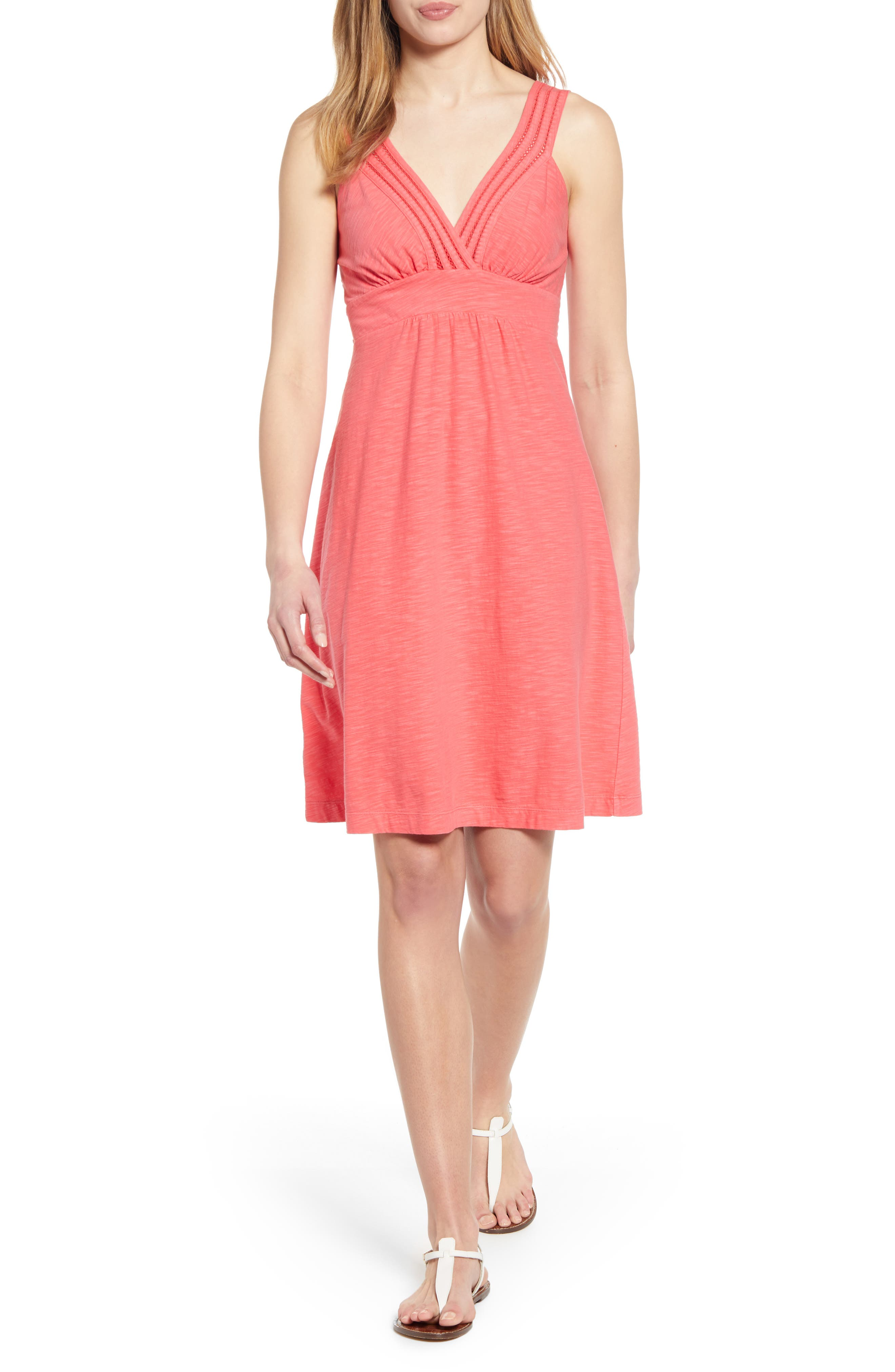 Tommy Bahama Arden Cotton & Modal Sundress, Pink