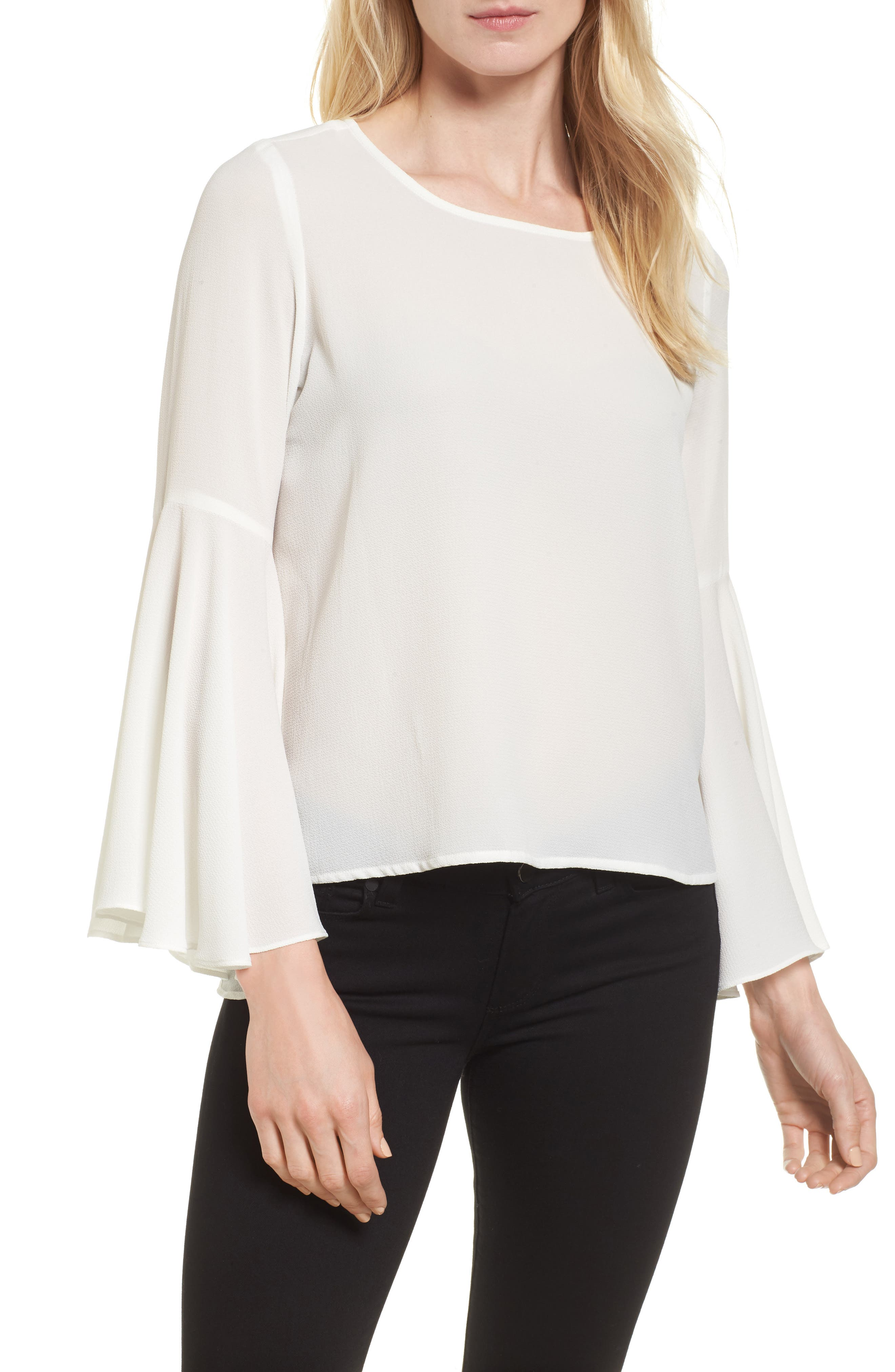 ,                             Bell Sleeve Blouse,                             Main thumbnail 11, color,                             903