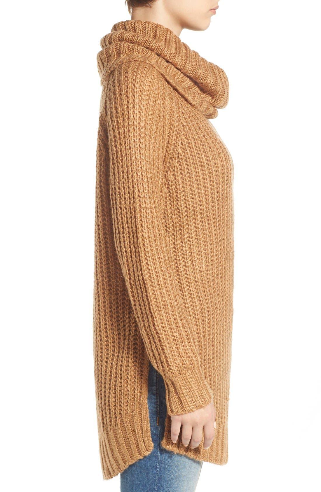 ,                             Cowl Neck Sweater,                             Alternate thumbnail 23, color,                             230