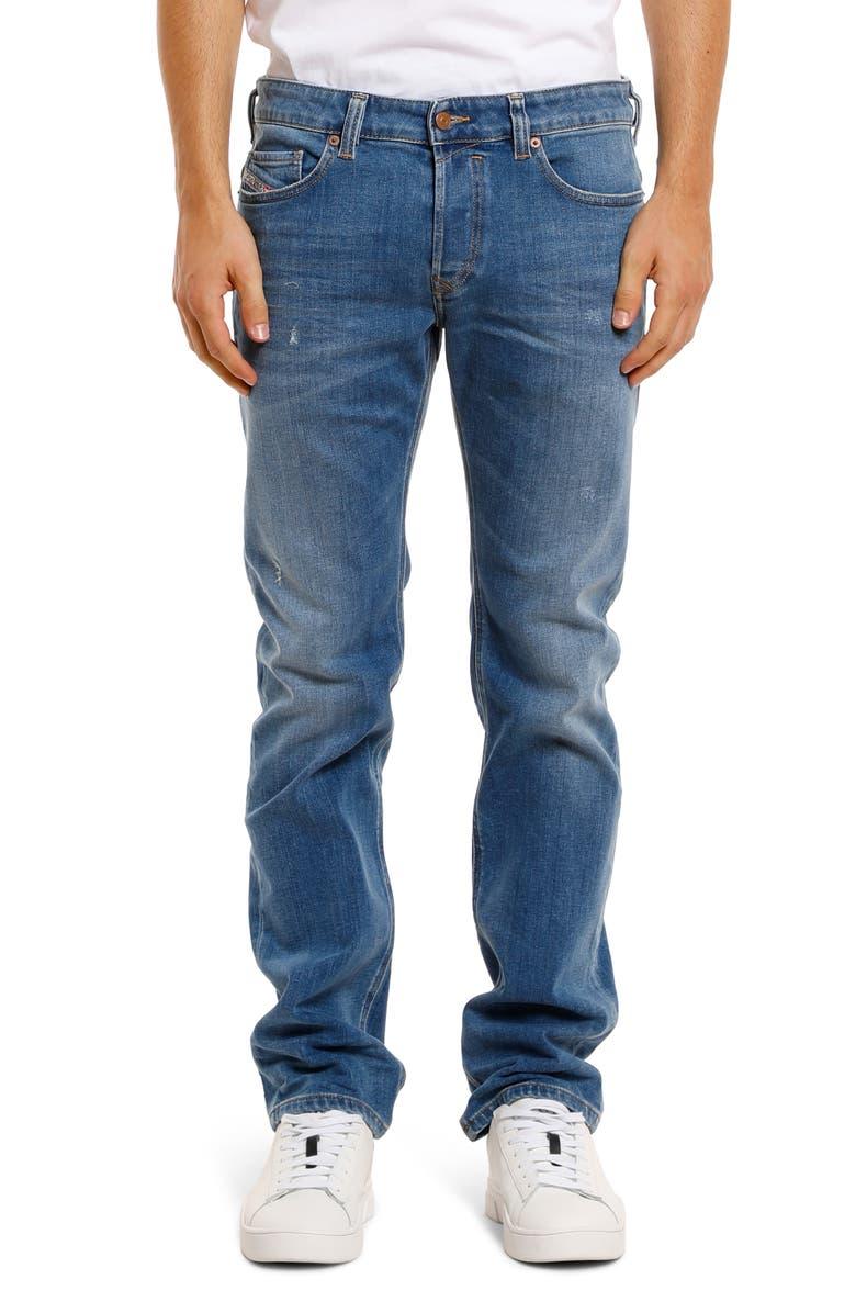 DIESEL<SUP>®</SUP> Safado-X Bootcut Jeans, Main, color, DENIM