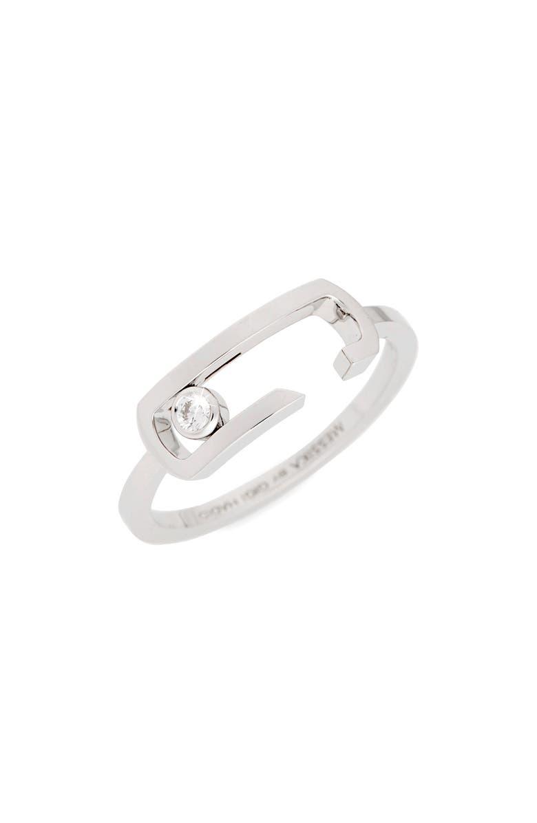 MESSIKA by Gigi Hadid Move Addiction 18K Gold & Diamond Ring, Main, color, 711