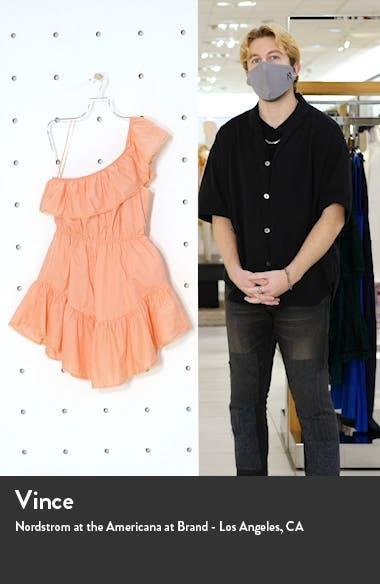 Lovers Lane One-Shoulder Minidress, sales video thumbnail