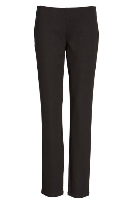 Image of Eileen Fisher Skinny Ponte Knit Pants