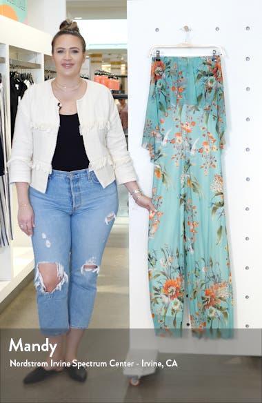 Strapless Wide Leg Jumpsuit, sales video thumbnail