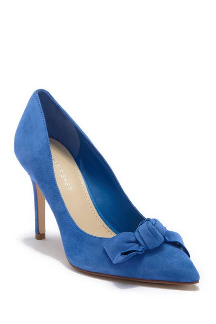 Image of Marc Fisher Doreny Suede Bow Pump