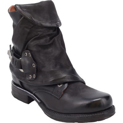 A.s.98 Emerson Engineer Boot - Black
