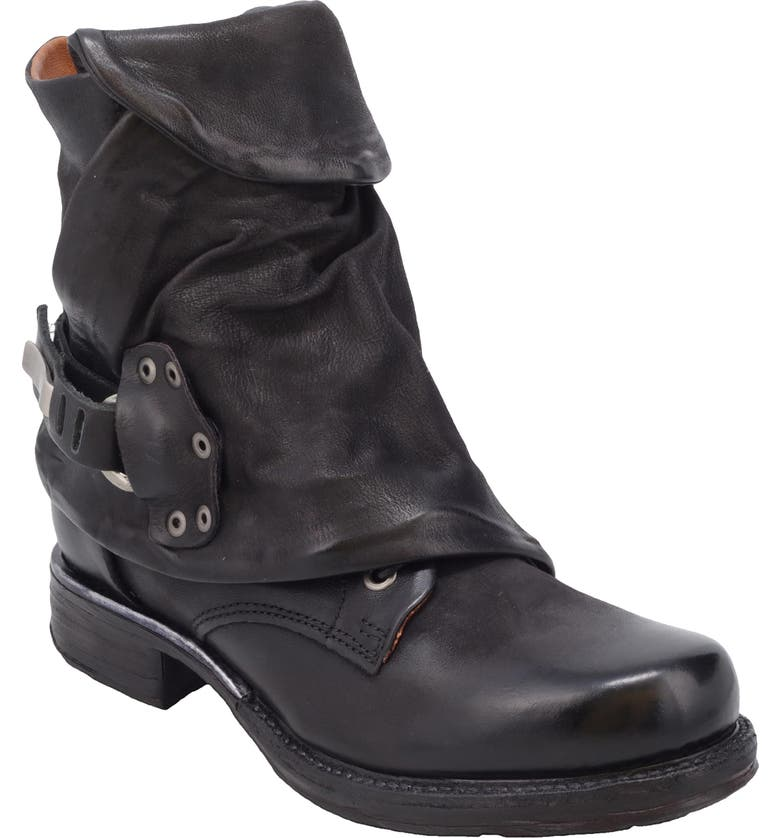 A.S.98 Emerson Engineer Boot, Main, color, BLACK LEATHER