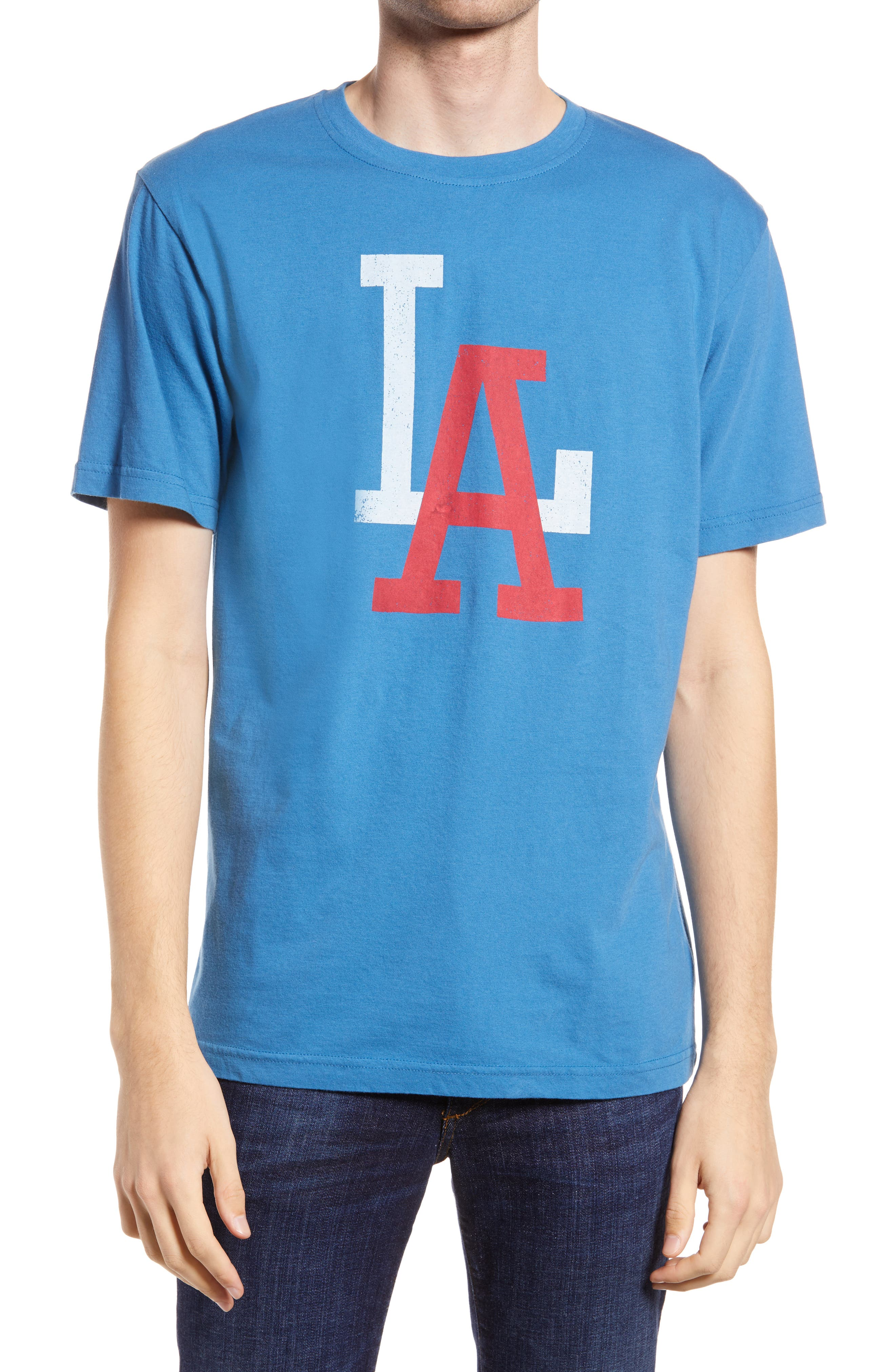 Archive Brass Tacks Los Angeles Angels Men's Graphic Tee