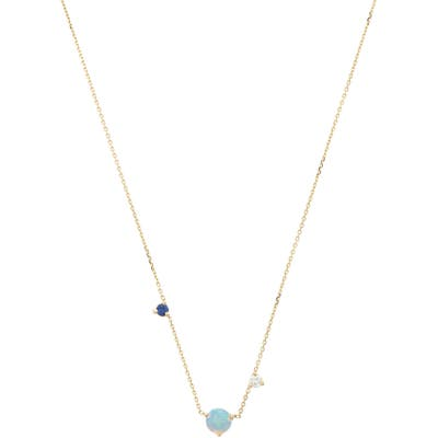 Wwake Counting Collection Three-Step Necklace