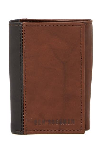 Image of Ben Sherman Colorblock Leather Wallet