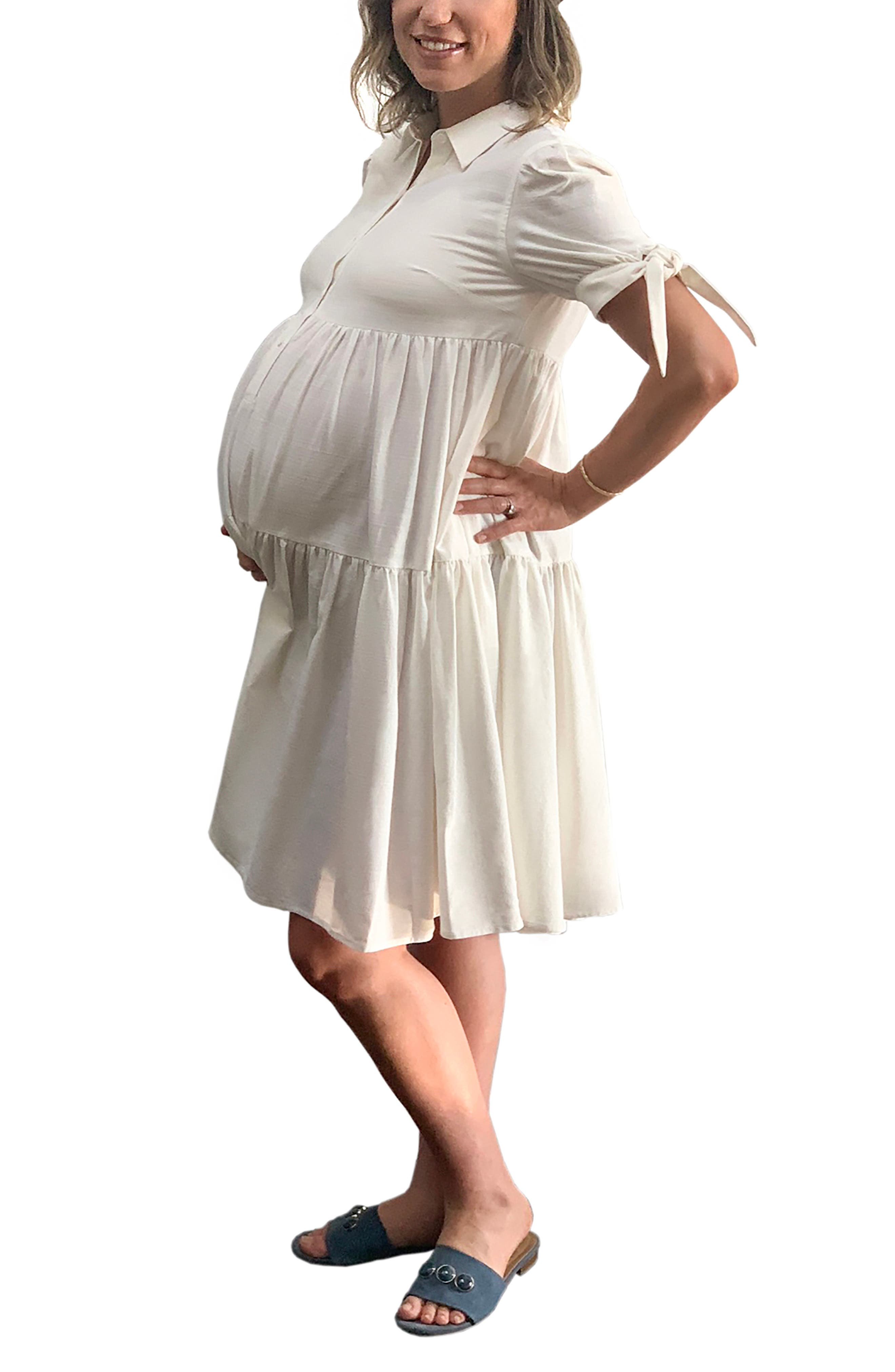 Emilia George Babette Maternity/Nursing Dress