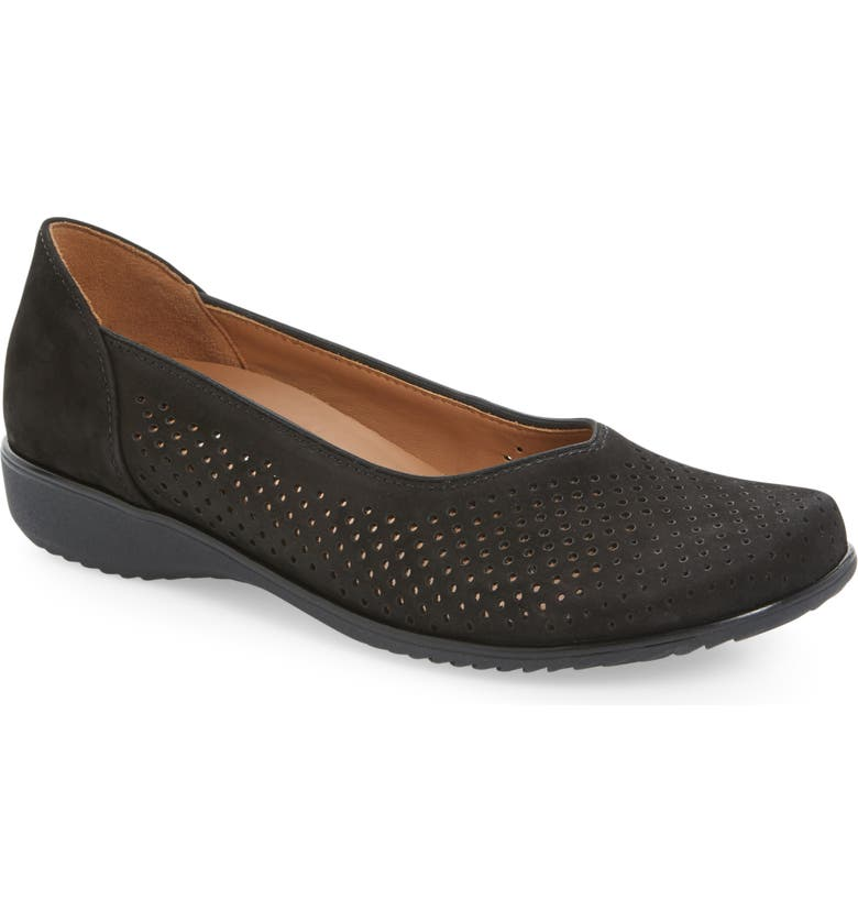 Ara Avril Perforated Flat Women