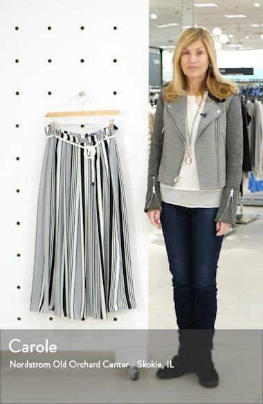 Variegated Stripe Rope Midi Skirt, sales video thumbnail