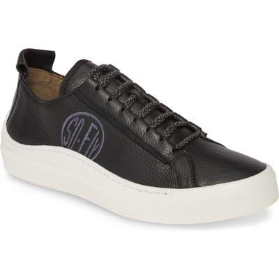 Fly London Low Top Sneaker, Black