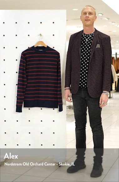 Robin Slim Fit Organic Cotton Sweater, sales video thumbnail