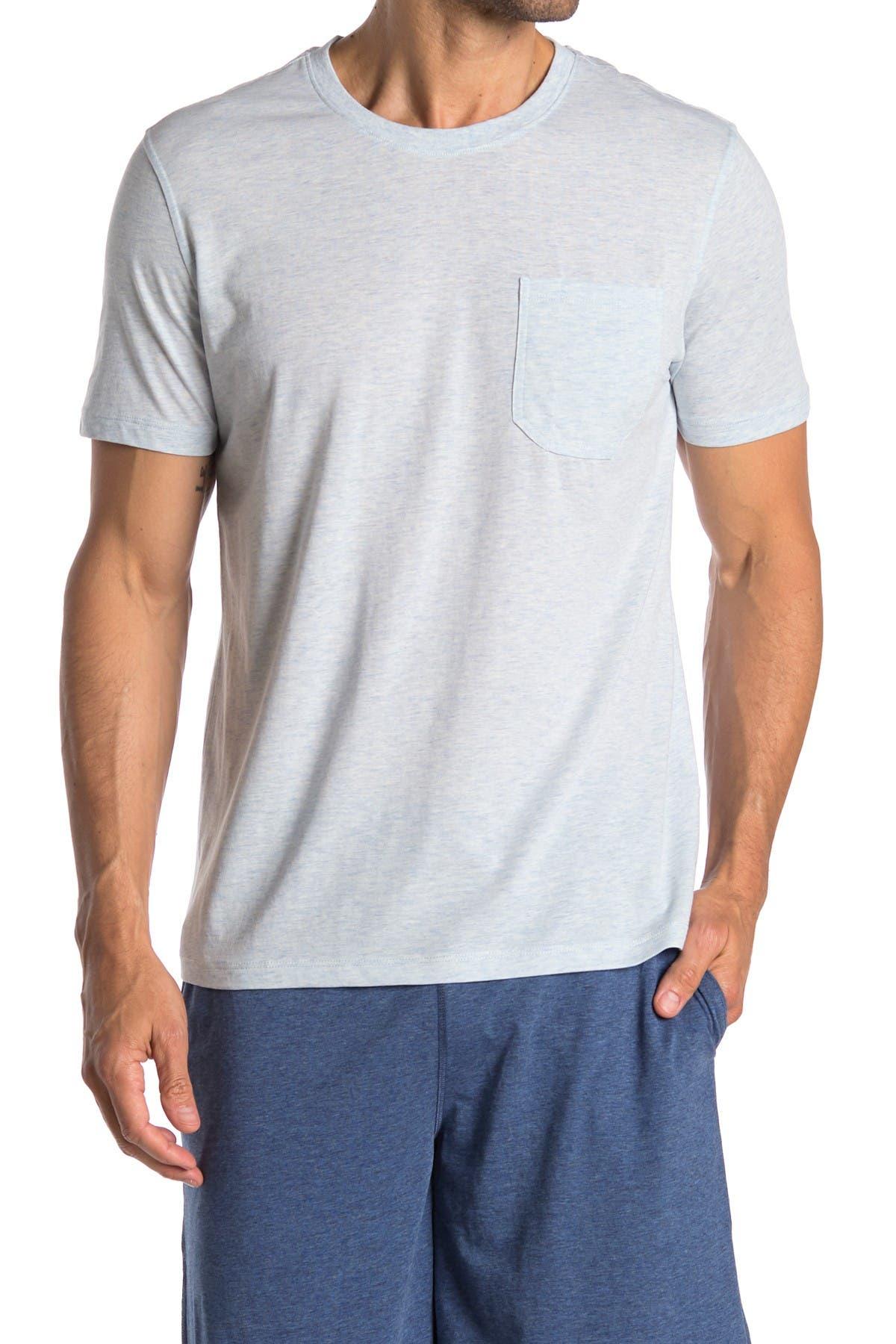 Image of Daniel Buchler Crew Neck Pocket T-Shirt