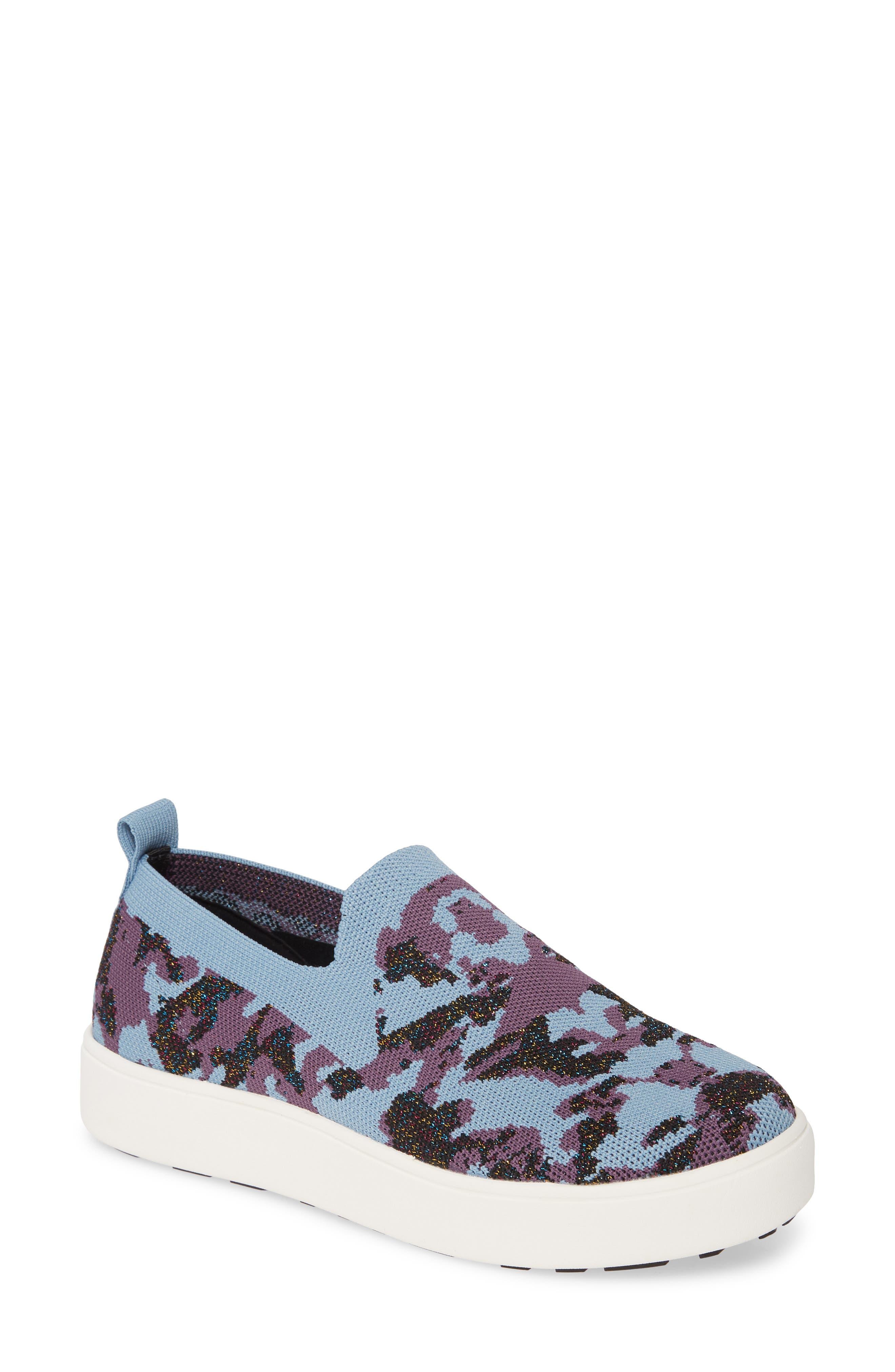 Bernie Mev. Jenna Slip-On Sneaker, Blue