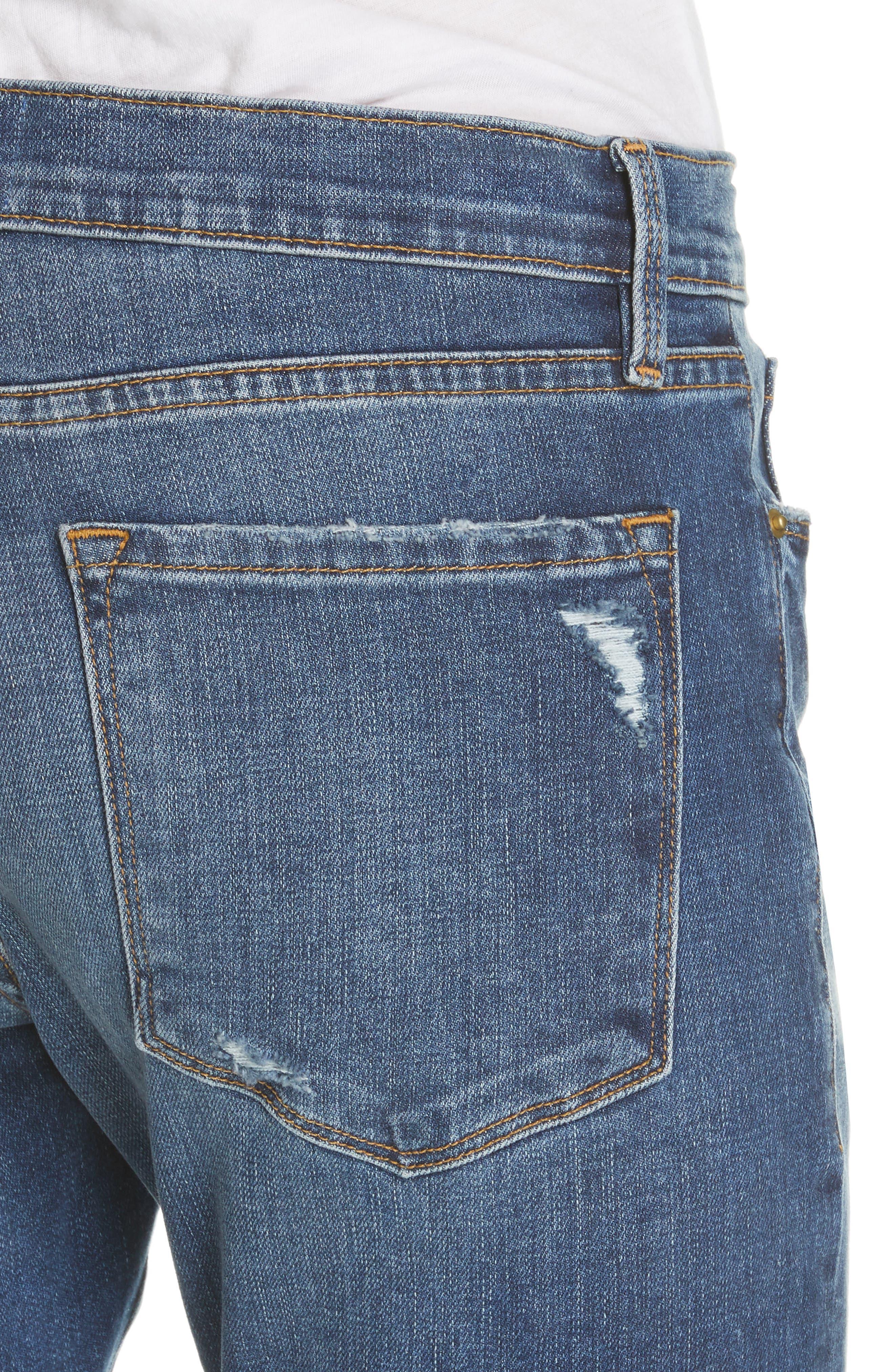 Frame Jeans Le Garcon Ankle Boyfriend Jeans