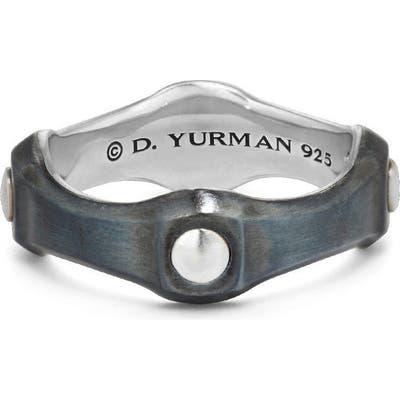 David Yurman Anvil Band Ring With Bronze, m