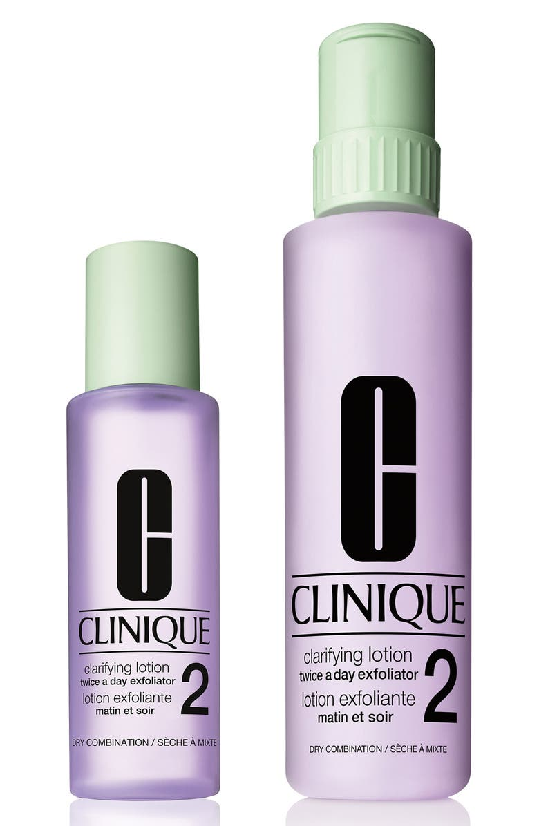 CLINIQUE Difference Makers: Clarifying Lotion 2 Set, Main, color, NO COLOR