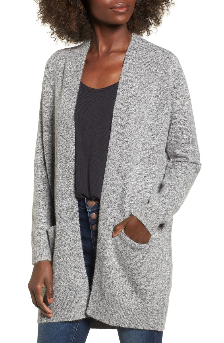DREAMERS BY DEBUT Cozy Open Cardigan, Main, color, 001