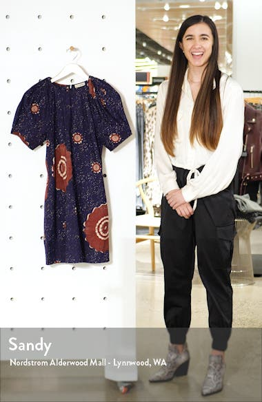 Waverly Poplin Shift Dress, sales video thumbnail