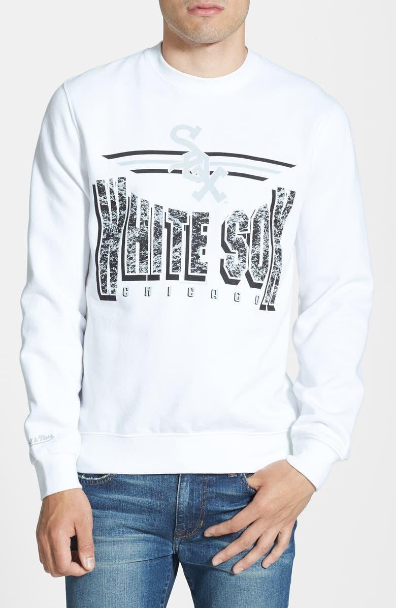 online store 8b304 13192 Mitchell & Ness 'Chicago White Sox' Crewneck Sweatshirt ...