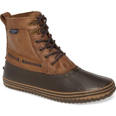 Sperry Huntington Waterproof Duck Boot, Brown