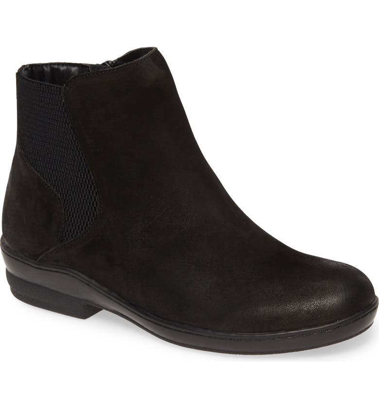 DAVID TATE Torrey Bootie, Main, color, BLACK NUBUCK LEATHER