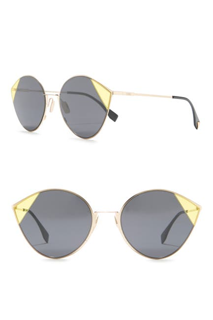 Image of FENDI 60mm Cat Eye Sunglasses