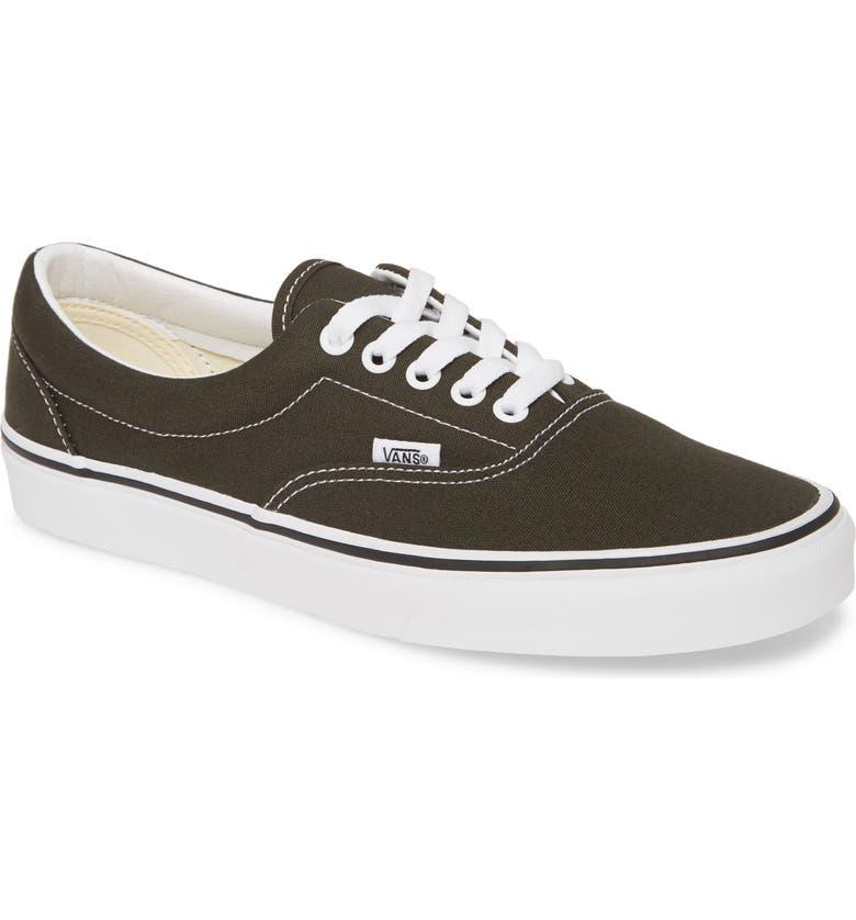 VANS 'Era' Sneaker, Main, color, FOREST NIGHT/ TRUE WHITE