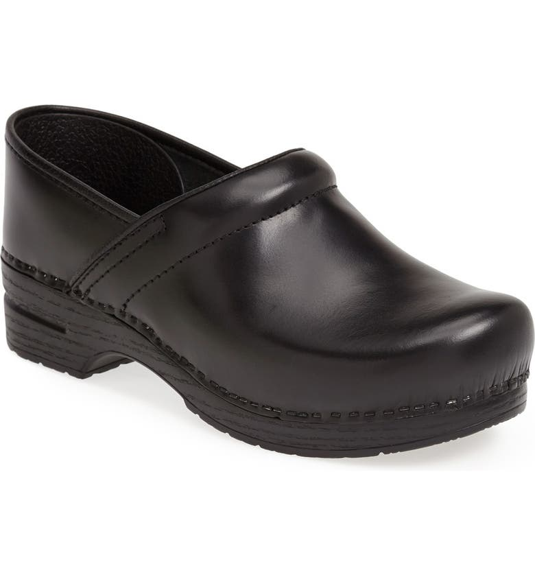 DANSKO Pro Clog, Main, color, BLACK CABRIO