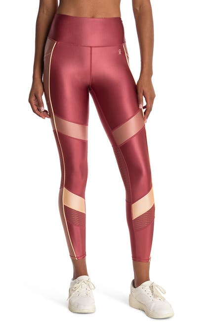 Image of Good American The Liquid Mix High Waist Ankle Crop Leggings