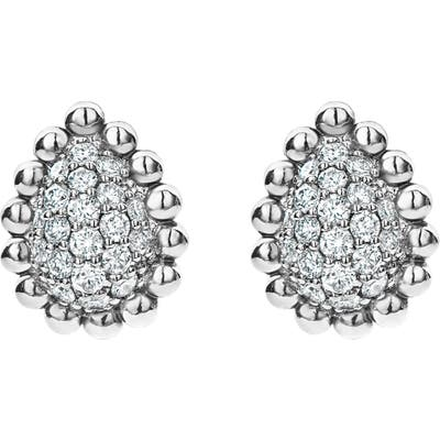 Lagos Caviar Spark Diamond Earrings