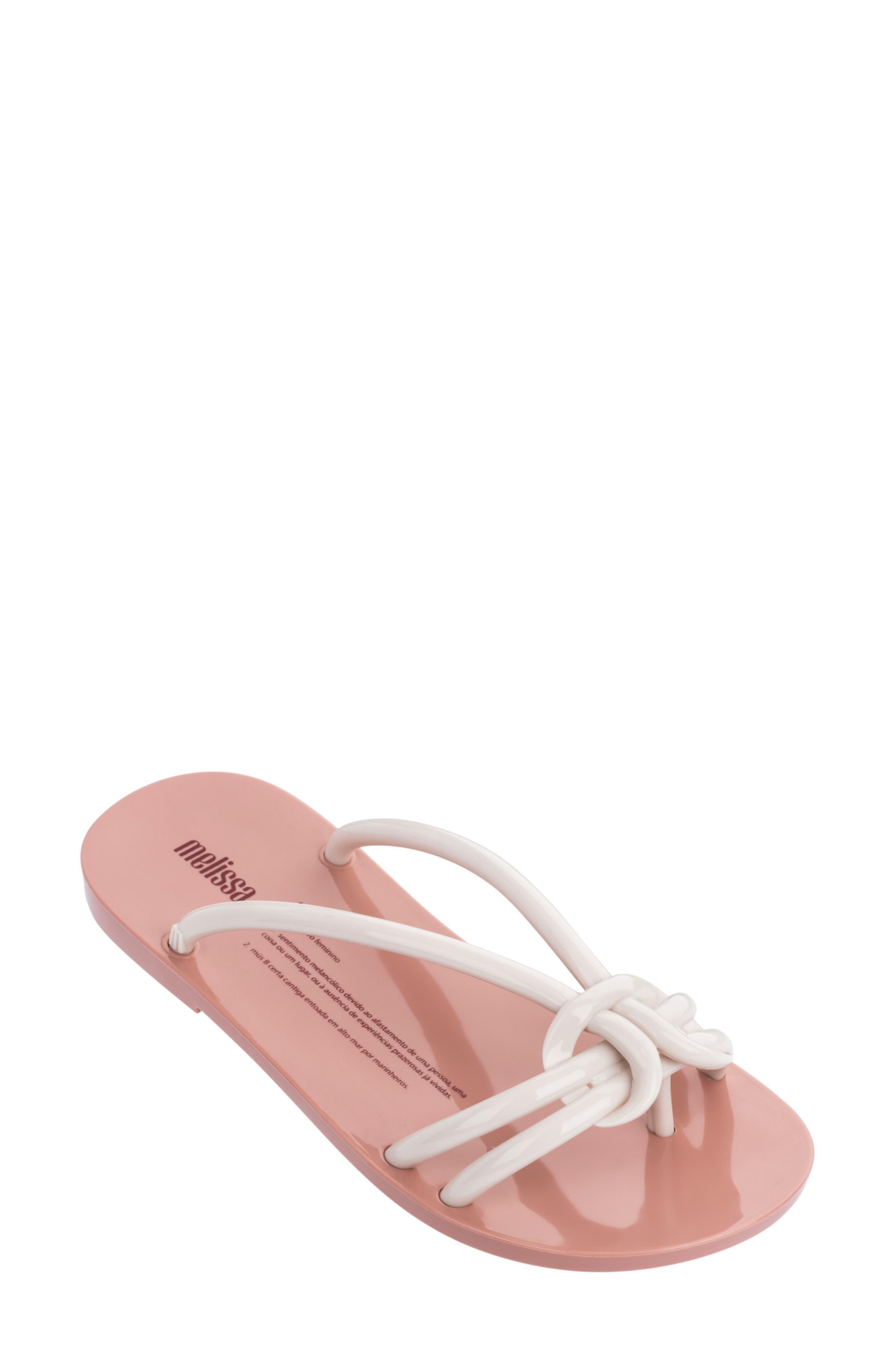 Melissa Saudade Flip Flop, White