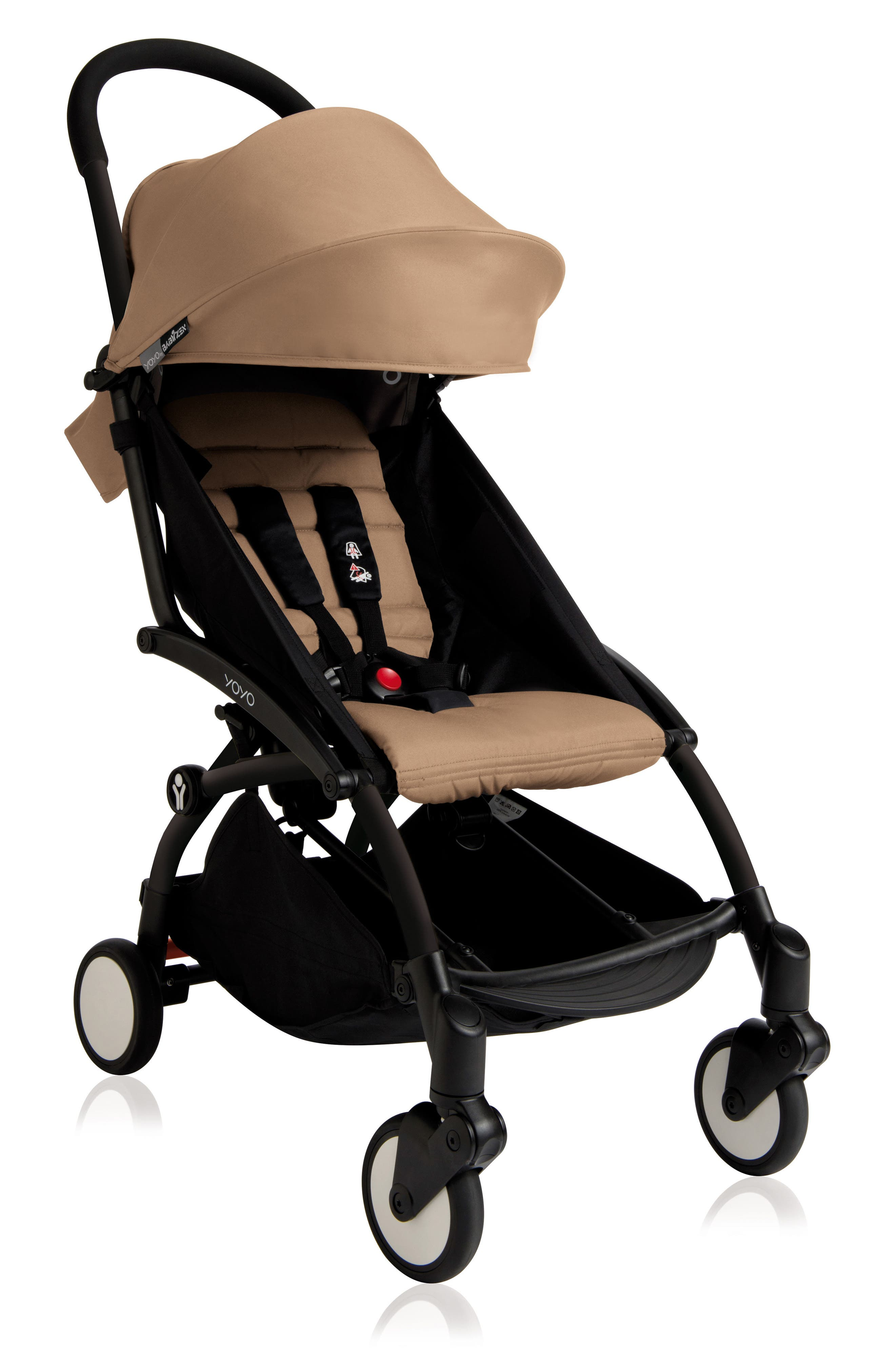 Infant Babyzen(TM) Yoyo Complete Stroller With Travel Bag Black Parasol  New Leg Rest Size One Size  Beige