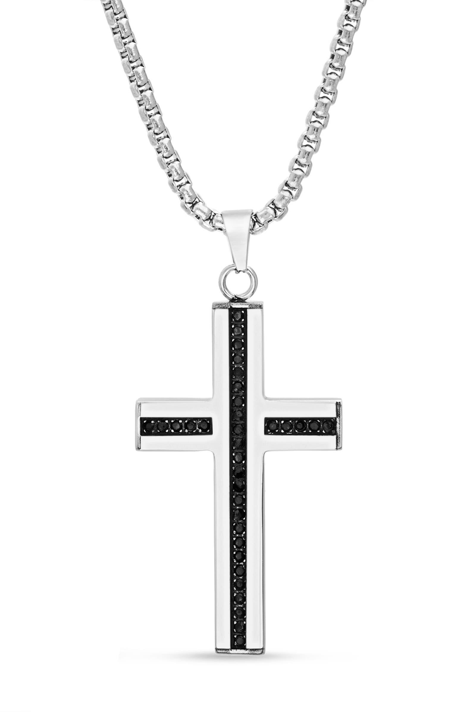 Cross Pendant Necklace STEVE MADDEN