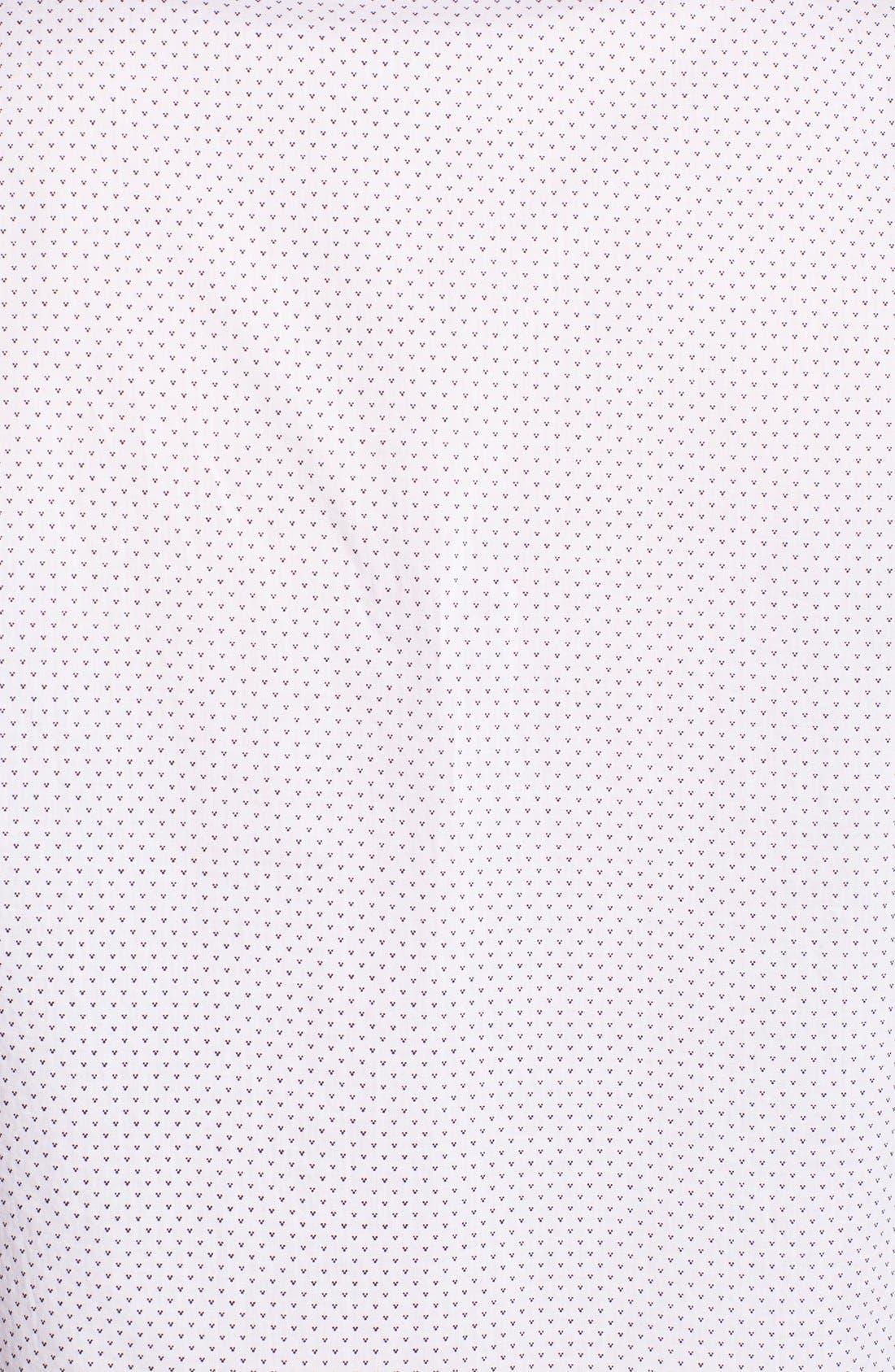 ,                             'Eight Foot' Elongated Print Woven Shirt,                             Alternate thumbnail 2, color,                             100