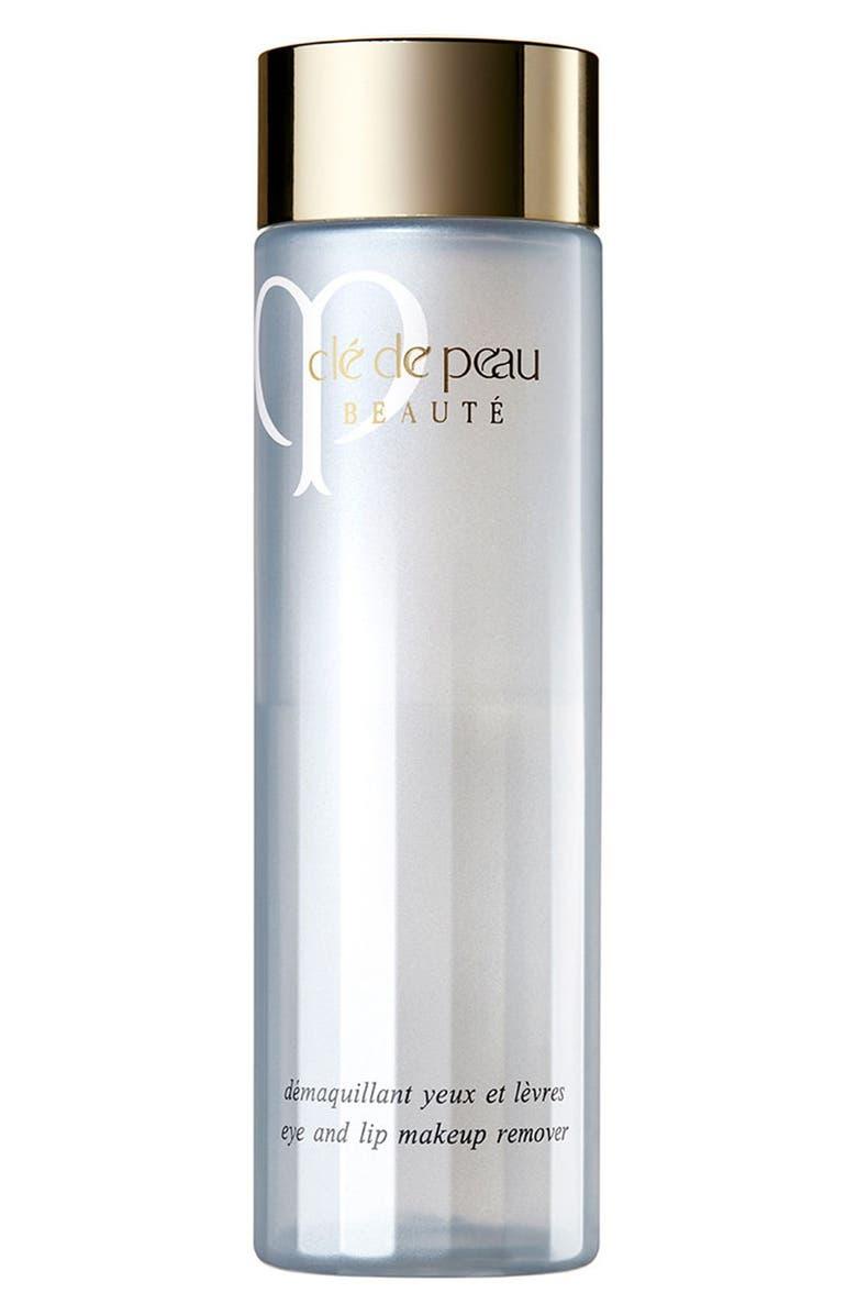 CLÉ DE PEAU BEAUTÉ Eye & Lip Makeup Remover, Main, color, NO COLOR