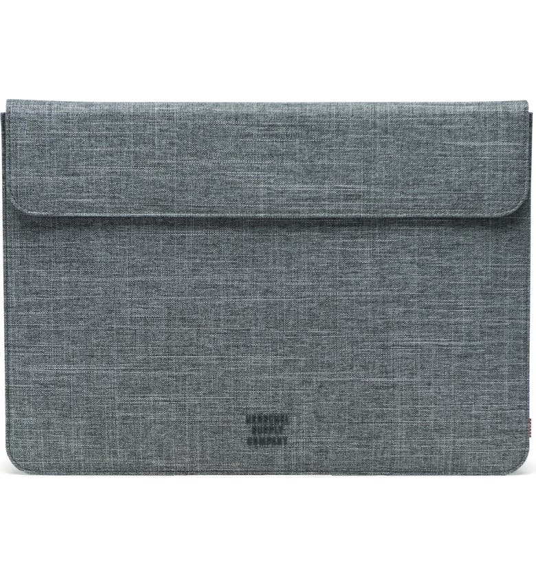 HERSCHEL SUPPLY CO. Spokane 15-Inch MacBook Pro Canvas Sleeve, Main, color, 021