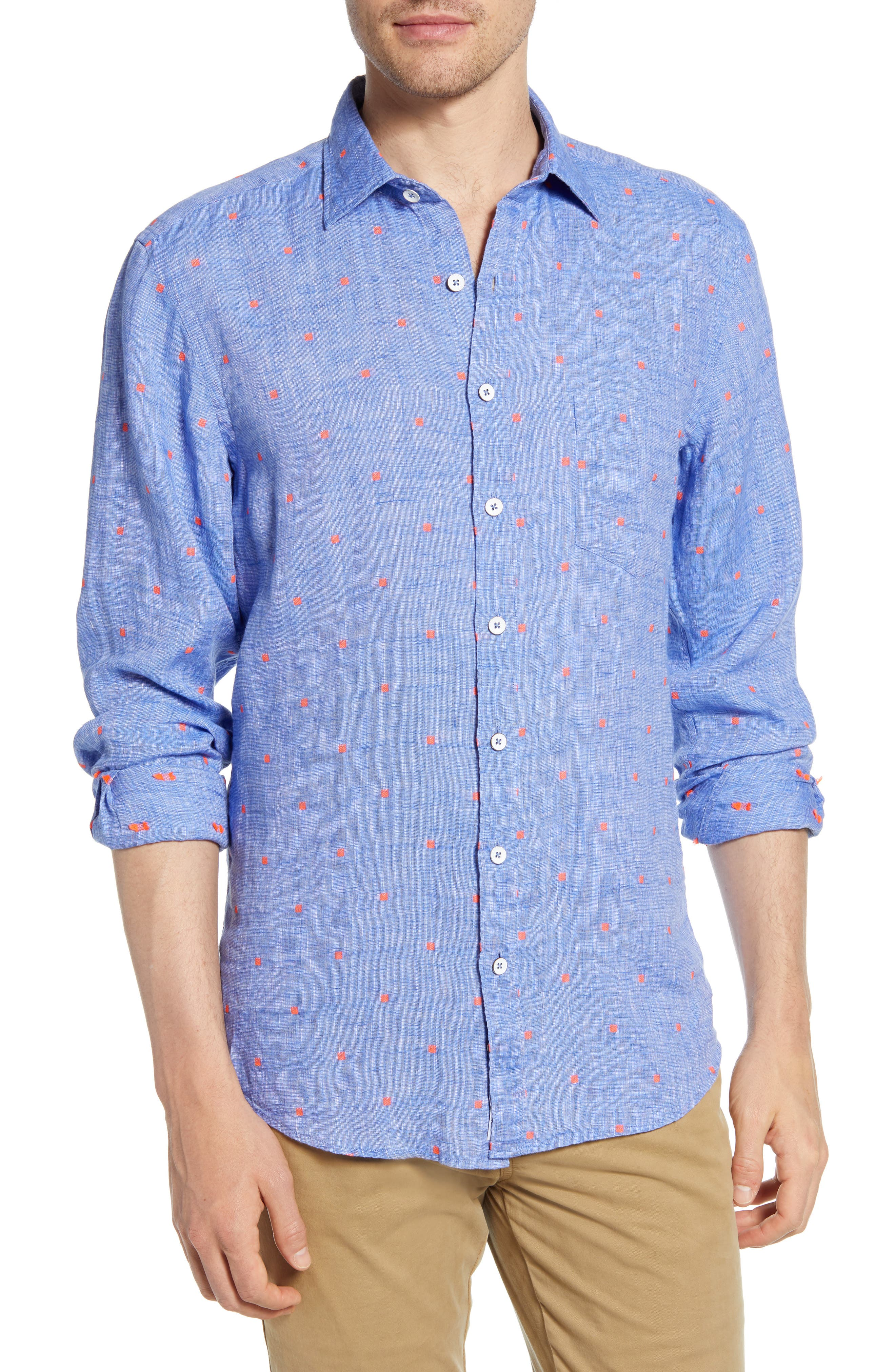 Image of RODD AND GUNN Fox Street Regular Fit Shirt