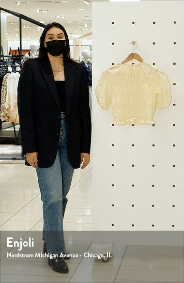 Smocked Short Sleeve Top, sales video thumbnail